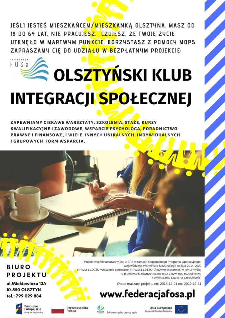 Olsztyński Klub Integracji Społecznej