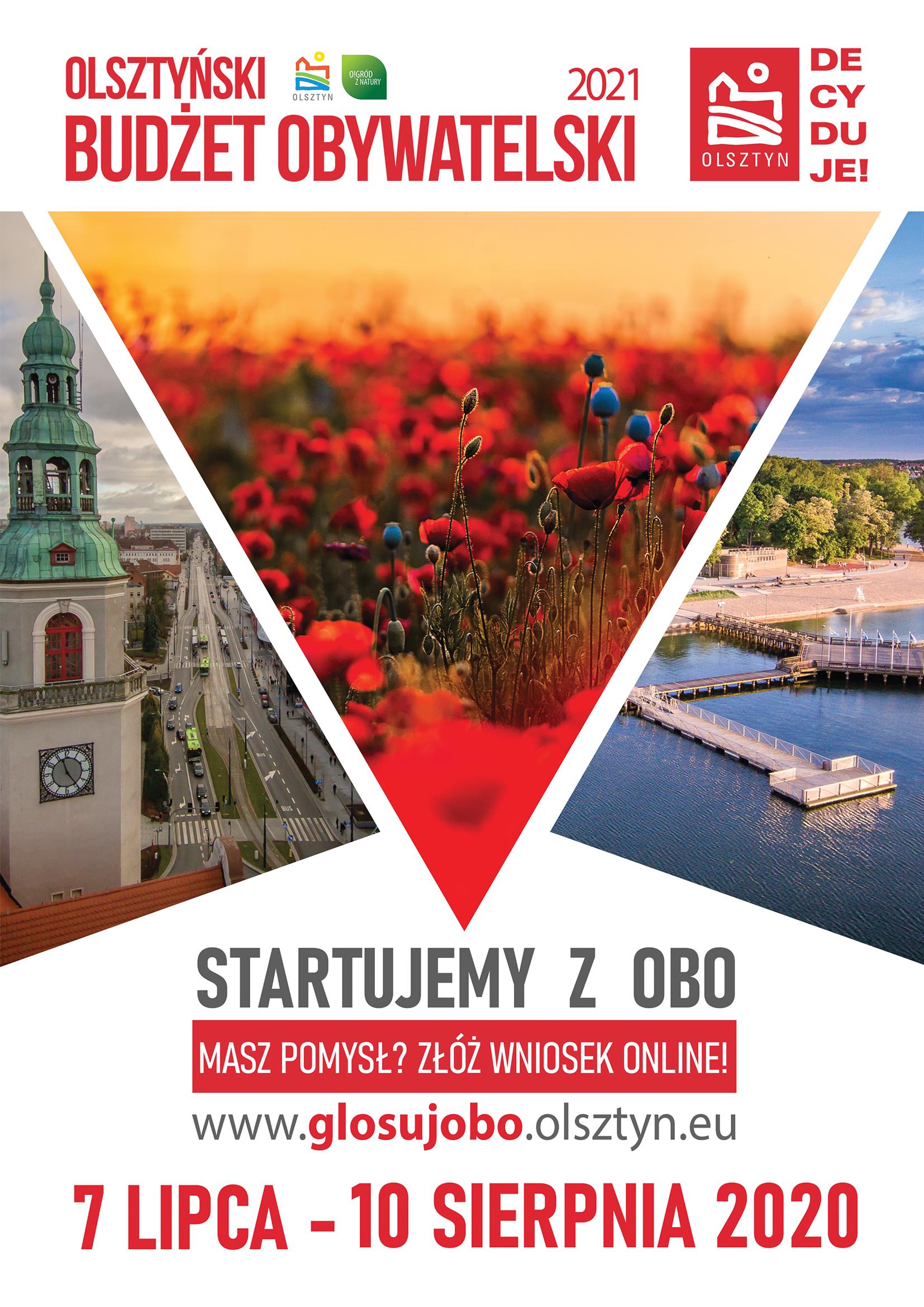 Startujemy z OBO – promujemy Olsztyński Budżet Obywatelski