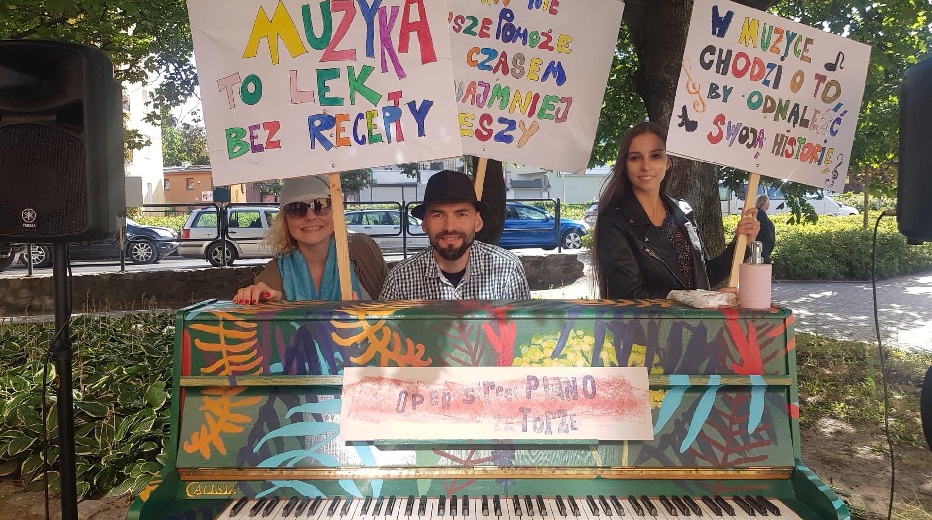 Open Piano na olsztyńskim Zatorzu
