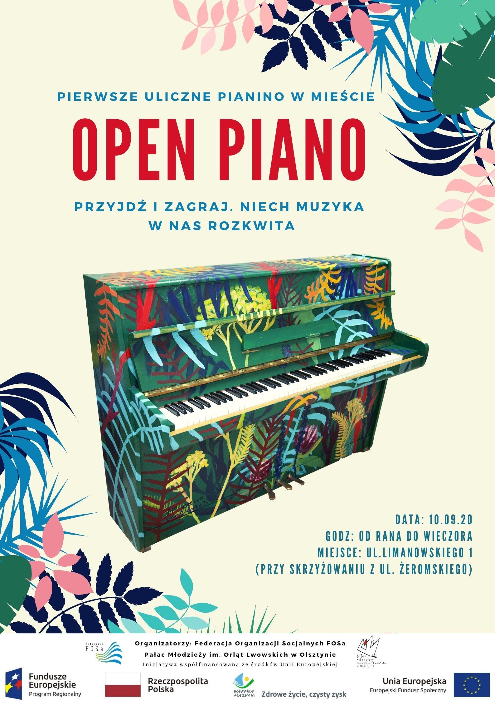 Open Piano – zapraszamy na happening