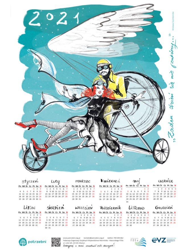 Kalendarz dla Wspierających!