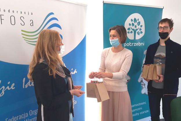 Wielkanocna inicjatywa Olsztyńskiego Klubu Integracji Społecznej