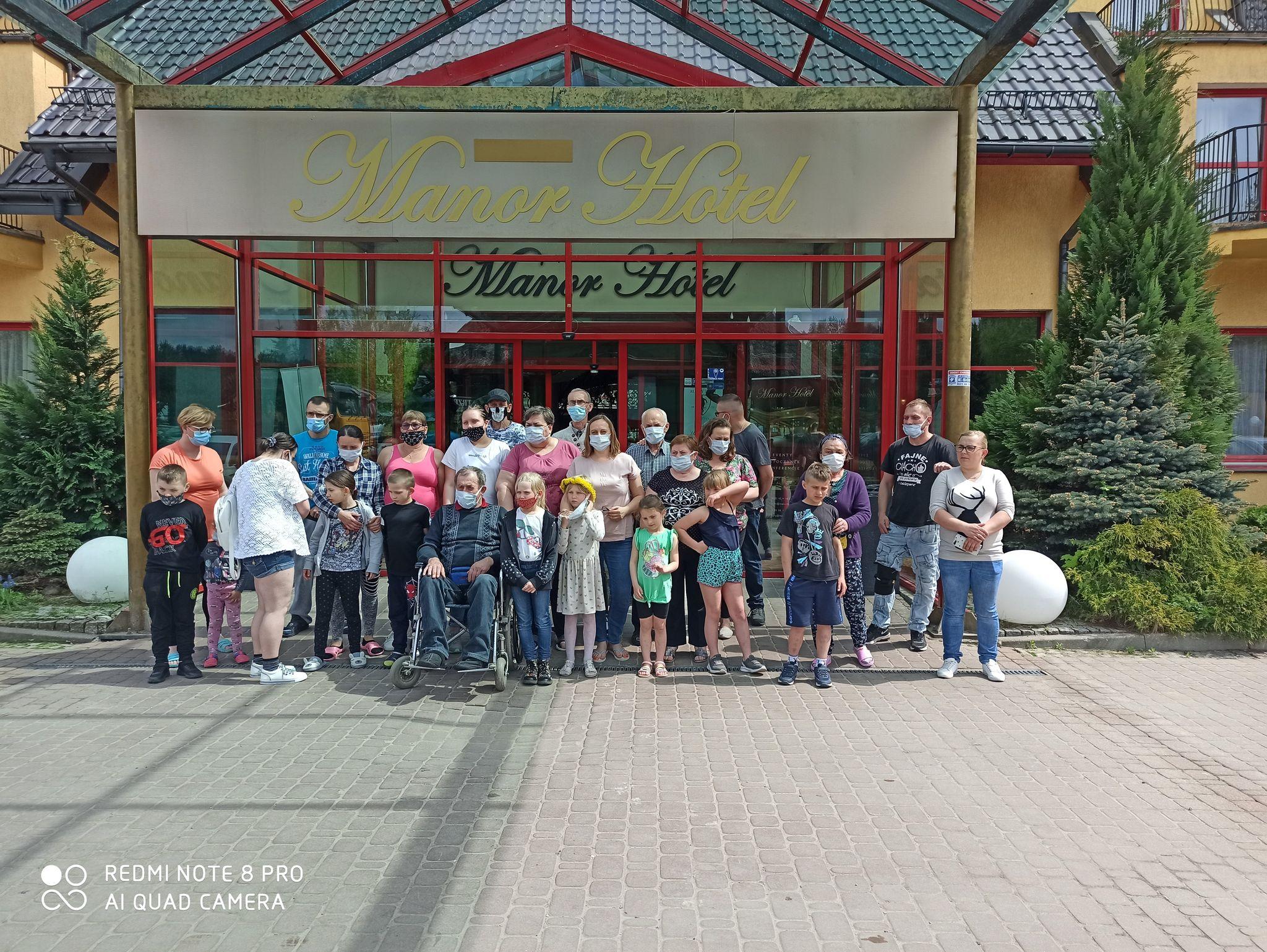 """Wyjazdowy Klub Rodzinny w ramach projektu """"Rozwój usług społecznych w gminie Jeziorany"""""""