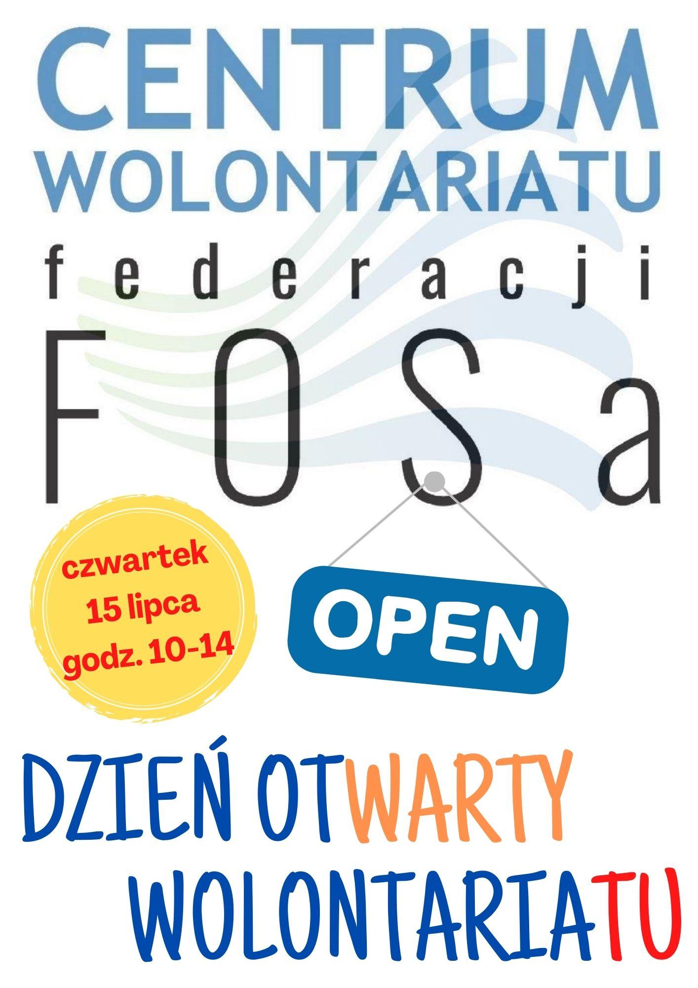 Dzień Otwarty w Centrum Wolontariatu przy federacji FOSa